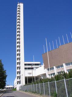 Helsinki Olympic tower, Finland