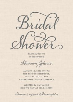 Serenity rose quartz bridal shower by jellyfishprintables sweet calligraphy bridal shower invitation filmwisefo
