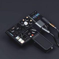 Seymourpowell / Move, Wear, Link and Play / The Play / Concept / Portable Audio Production Tool / 2016 Tech Gadgets, Cool Gadgets, Module Design, Plakat Design, Audio Design, Mechanical Design, 3d Prints, Cool Tech, Arduino