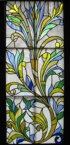Stained glass by Pomelova Innessa
