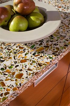 Vetrazzo Countertop - Eco-Friendly, Stunning Recycled Glass - Green Building Supply