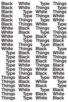 ●2015.10.3 Saturday to 11.15 Sunday Bernd Kuchenbeiser Exhibition Black White Type Things at print gallery Tokyo