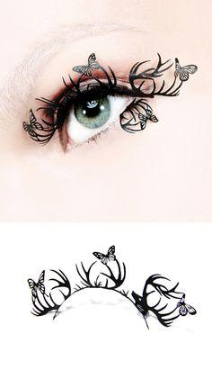 Paper Cutting Eyelashes