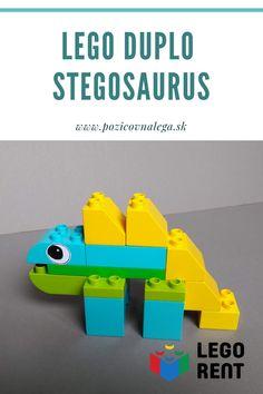 #dinosaurus #stegosaurus #duplo #tutorial #navody Lego Duplo, Nintendo 64, Toys, Lego Duplo Table, Activity Toys, Games, Toy, Beanie Boos