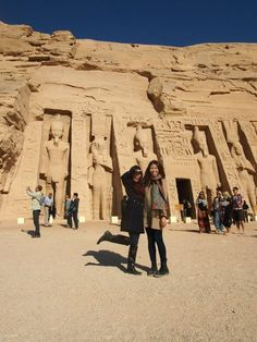 The Smaller Temple at Abu Simbel. It was built about one hundred meters northeast of the temple of Pharaoh Ramesses II and was dedicated to the goddess Hathor and Ramesses II's chief consort, Queen Nefertari. This was the second time a temple had been dedicated to a Queen of Egypt.