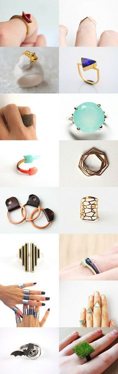 Ringmania by Eda Atay on Etsy--Pinned with TreasuryPin.com