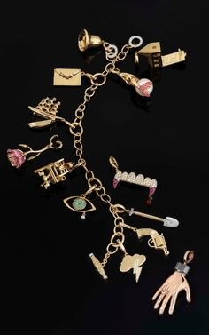 Nick Cave and The Bad Seeds charm bracelet