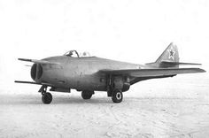 Mikoyan Gurevich MiG-9FP (1947) - one prototype with the N-37 cannon moved to the side of the fuselage