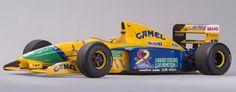LA GAZETTE AUTOMOBILE: Photo du Jour : la Benetton-Ford de Schumacher à vendre