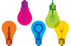 Technicolor lightbulbs