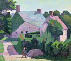 Robert Bevan, 'Dunn's Cottage-1915. on ArtStack #robert-bevan #art