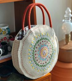 Marvelous Crochet A Shell Stitch Purse Bag Ideas. Wonderful Crochet A Shell Stitch Purse Bag Ideas. Crochet Round, Crochet For Kids, Crochet Baby, Free Crochet, Learn Crochet, Crochet Shell Stitch, Crochet Motifs, Crochet Patterns, Crochet Handbags