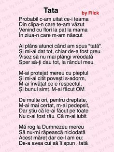 Poezii și mesaje frumoase pentru tata 8 Martie, Fathers Day Quotes, Kids Education, Spiritual Quotes, Quote Of The Day, Me Quotes, Lyrics, Just Me, Literatura