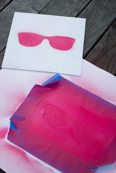DIY Giant Lawn Matching Game + Free Printable Stencils | Studio DIY®