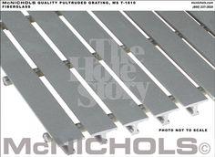 McNichols Fiberglass Stair Tread MS T 1810