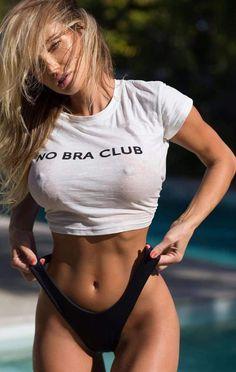 38e9cda248 NO BRA CLUB Funny Printed Crop Top – Lupsona Cardio Gym