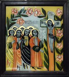 Religious Icons, Orthodox Icons, Illuminated Manuscript, Ethiopia, Folk, Religion, Spirituality, Christian, Glass