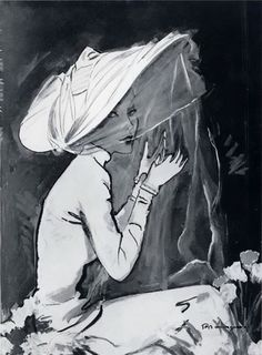 Pierre Mourge Illustration 1949