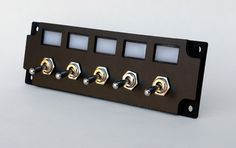 Custom switch panel race truck jeep auto dash lighted LED
