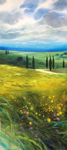 Spring time Val d'Orcia - Tuscany