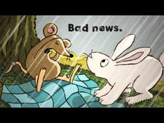 Good News, Bad News by Jeff Mack  Recommended for Preschool and up.  Check it out from the Geneva Public Library!  EY MACK