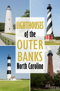 A Guide to the Lighthouses of the OBX, North Carolina on My Meena Life Nags Head North Carolina, Outer Banks North Carolina, Outer Banks Nc, Outer Banks Vacation, North Carolina Mountains, Jacksonville North Carolina, Corolla Outer Banks, Visit North Carolina, Coastal North Carolina