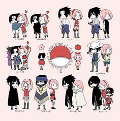 All Sasuke & Sakura Sasuke Uchiha, Naruto Sippuden, Naruto Teams, Naruto Cute, Naruto Funny, Sasuke Sakura Sarada, Naruto Sasuke Sakura, Otaku, Fandom