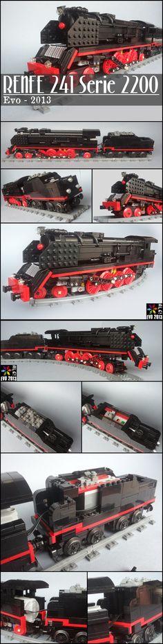 RENFE 241 Serie 2200 #LEGO #train