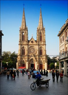 Guangzhou: Sacred Heart Cathedral. Would have liked to have seen this. We spent several days in Guangzhou during the adoption trip as that is where the American Consulate is located. Had to finalize the adoption paperwork and obtain a Visa for my daughter.