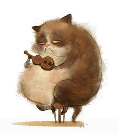 Illustrations by Wiebke Rauers Art And Illustration, Illustrations And Posters, Character Illustration, Animal Sketches, Animal Drawings, Cat Character, Character Design, Funny Animal Comics, Sketch Manga