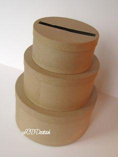 DIY Wedding Card Box Unfinished 3 tier card Box – The Best Ideas Diy Card Box, Gift Card Boxes, Diy Cards, Fall Wedding, Diy Wedding, Rustic Wedding, Dream Wedding, Wedding Ideas, Card Box Wedding