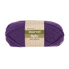 Our acrylic yarn range include a wide variety of colours and thicknesses from thin to super chunky. Browse the whole acrylic yarn collection at Spotlight now. Knit Crochet, The 100, Marvel, Seasons, Embroidery, Knitting, Purple, Tricot, Seasons Of The Year