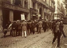 Barcelona (1907-1908), Frederic Ballell: Rambla de Capuchinos, frente a la redacción de La Tribuna.