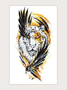 Eagle Tattoo Arm, Rose Tattoo Leg, Rose Tattoo With Name, Black Rose Tattoos, Eagle Tattoos, Leg Tattoos Women, Arm Tattoos For Guys, Tattoo Skin, Tattoo Art