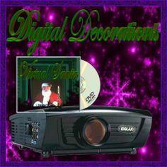 All New Virtual Santa Decoration Kit Santa Claus In
