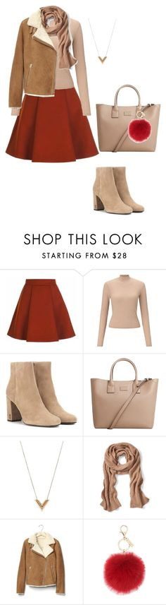 """Без названия #35"" by ovasileva on Polyvore featuring мода, Miss Selfridge, Yves Saint Laurent, MANGO, Louis Vuitton, Banana Republic, Gap и L.K.Bennett"