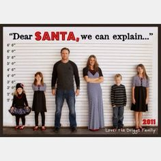 Hilarious Christmas card-lol so doing this with my kids when i have a family :)