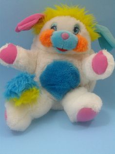 1980s White Popple With Tags by OliveandFrances on Etsy  this was my popple as a child!