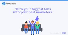 Turn your biggest fans into your best marketers. Rewardful is a simple way for SaaS companies to setup affiliate and referral programs with Stripe. Marketing Words, Direct Marketing, Marketing Software, Content Marketing, Affiliate Marketing, Marketing And Advertising, Your Biggest Fan, Existing Customer