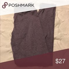 Brand new buttery soft purple LuLaRoe leggings These brand new buttery soft LuLaRoe leggings are so cozy you can sleep in them! These ones are heathered purple in color LuLaRoe Pants Leggings