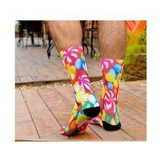 Ill Be Fine I Swear Popular Fashion Custom Creative Sport 3D Printed Crew Socks