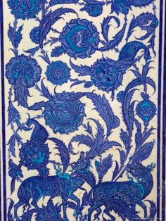 size: Photographic Print: Tile Inside Topkapi Palace, Istanbul, Turkey by Joe Restuccia III : Subjects Turkish Pattern, Mosaic Tile Art, Anthropologie Home, Turkish Tiles, Arabian Nights, Animal Fashion, Galaxy Wallpaper, Traditional Art, Painting & Drawing