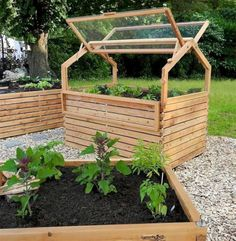 If you are planning to a vegetable garden, the best place to plant it may not be in the ground, many gardeners today use raised beds which lift the plants and their roots above ground level. There are a number of good reasons to garden this way; you can choose your soil for good plants and good harvest. Raised bed also brings the garden up where it's easier to reach for weeding and harvesting.