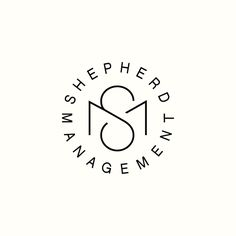 Shepherd Management by Richard Baird. #logo #monogram #branding
