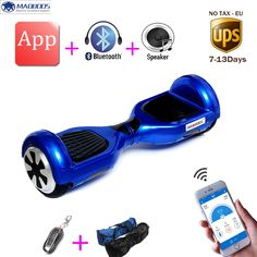 2 wheel 6.5 inch Smart electric scooter APP self balance electric skateboard standing drift electric unicycle hoverboard
