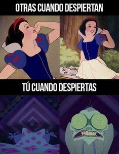 Funny Spanish Memes, Spanish Humor, Funny Relatable Memes, Disney Jokes, Funny Disney, Crush Memes, Celebrity Drawings, New Memes, Comedy Central