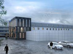 """3d project """"office building"""" CG artist: Polina Ryabkova polina.ryabkova71@yandex.ru https://www.behance.net/Polina_Ryabkova"""