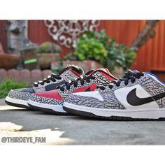 Nike SB x Supreme #nike #sneakers #supreme