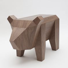 Bear Table via Alexander Kanygin. Click on the image to see more!