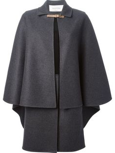 Shop Valentino layered cape in Fiacchini from the world's best independent boutiques at farfetch.com. Over 1000 designers from 60 boutiques in one website.
